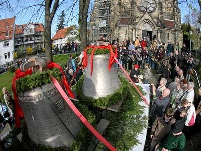 Neue Glocken Lutherkirche
